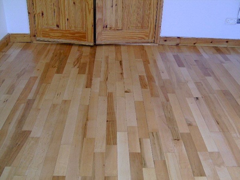 Before And After Images Of Wooden Floor Sanding Wooden Floor